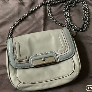 Coach leather crossbody purse